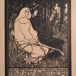 1898_pl136_bradley_dlw, Maitres de L'Affiche, PL136, Bradley, 1898, Lithograph, Imprimerie Chaix, Jules Cheret, Art Nouveau, Belle Epoque, Gallery East, Gallery East Network