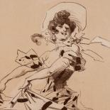 032_plate_p_w, Maitres de L'Affiche, SPL016, Cheret, 1900, Lithograph, Imprimerie Chaix, Jules Cheret, Art Nouveau, Belle Epoque, Gallery East, Gallery East Network