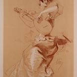 spl001_cheret_w, Maitres de L'Affiche, SPL1, Cheret, 1898, Lithograph, Imprimerie Chaix, Jules Cheret, Art Nouveau, Belle Epoque, Gallery East, Gallery East Network