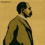 1899_nicholson_kipling_8.75x11.5_dlw, Rudyard Kipling, Sir William Nicholson, SirNicholson, 1899, Lithograph, Gallery East, Gallery East Network