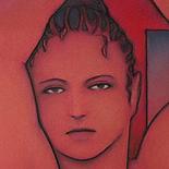 kluin_jeanne_darc_2003_w.JPG, Jeanne d' Arc, Erik Kluin, 2003, Original Art, Pastels, Gallery East, Erotic Art, Boston Artist, Kluin, Gallery East Network