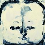 savarino_2007_chenrezig_12x12w, 2007, Chenrezig, Encaustic on canvas, Gallery East, Gallery East Boston, Paola Savarino, Savarino