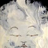 savarino_2007_chenrezig_9x12w, 2006, White Tara, Encaustic on canvas, Gallery East, Gallery East Boston, Paola Savarino, Savarino