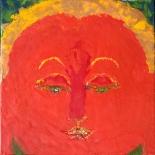 savarino_amytayus_12x12w, Amytayus, Paola Savarino, 2004, Encaustic on canvas, Gallery East, Gallery East Boston, Paola Savarino, Savarino