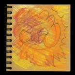 savarino_1994_dharma_like_sun_17w, Dharma Book, Gallery East, Gallery East Boston, Paola Savarino, Savarino
