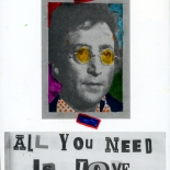 1980_thorensen_22.80_dlw, All You Need Is Love, Michael Thorensen, Thorensen, 1980, Photo postcard, Gallery East, Gallery East Network