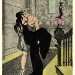 1930_majeska_sappho_002_dlw, Sappho P002, Madame Majeska, Majeska, 1930, Lithograph, Gallery East, Gallery East Network