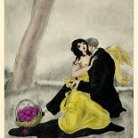 1930_majeska_sappho_090_dlw, Sappho P90, Madame Majeska, Majeska, 1930, Lithograph, Gallery East, Gallery East Network