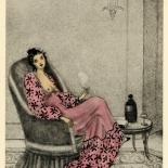 1930_majeska_sappho_130_dlw, Sappho P130, Madame Majeska, Majeska, 1930, Lithograph, Gallery East, Gallery East Network