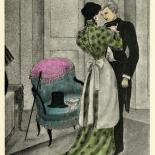 1930_majeska_sappho_166_dlw, Sappho P166, Madame Majeska, Majeska, 1930, Lithograph, Gallery East, Gallery East Network