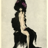 1930_majeska_sappho_196_dlw, Sappho P196, Madame Majeska, Majeska, 1930, Lithograph, Gallery East, Gallery East Network