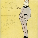 19000217_cappiello_lesourire_dlw, Le Sourire Fevrier, Leonetto Cappiello, Cappiello, Lithograph, 1900, Gallery East, Gallery East Network