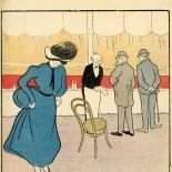 19000707_cappiello_lesourire_dlw, Le Sourire Juillet Leonetto Cappiello, Cappiello, Lithograph, 1900, Gallery East, Gallery East Network
