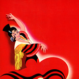 1940c_label_flamenco_7x8.5_dlw, Flamenco Brand, 1940c, Lithograph, Label, Objets, Gallery East Network, Gallery East