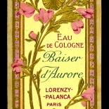 13_LB006_baiser_aurore1_art_nouveau_perfume_w, Objets d'art, Art Nouveau, Perfume Labels, Objets, Gallery East Network
