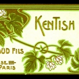 15_LB008_kentish_hops_art_nouveau_perfume_w, Objets d'art, Art Nouveau, Perfume Labels, Objets, Gallery East Network
