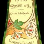 22_LB016_rosee_dor_art_nouveau_perfume_w, Objets d'art, Art Nouveau, Perfume Labels, Objets, Gallery East Network