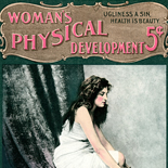 07_womens_physical_development_1901_01_w, Art Nouveau, Women's Physical Development, Bernarr MacFadden, MacFadden, Rare Newsprint ,1901, Engraving, Objets d'art, Gallery East, Objets, Gallery East Network
