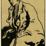 1899_nicholson_pryde_9x11.5_dlw, James Pryde, Sir William Nicholson, SirNicholson, 1899, Lithograph, Gallery East, Gallery East Networ