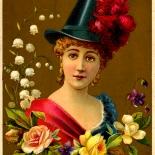 1880c_vtc_lillita_3.25x4.5_dlw, Art Nouveau, Lillita, Wagner & Kneppler Litho, Victorian Trade Card, c 1880, Lithograph, Objets d'art, Gallery East, Objets, Gallery East Network