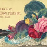 1880c_vtc_prang_3x5.5_dlw, Art Nouveau, Art & Education, L. Prang, Prang, Victorian Trade Card, c 1880, Lithograph, Objets d'art, Gallery East, Objets, Gallery East Network