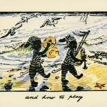 1929_nicholson_pirate_twins_15_dlw, The Pirate Twins, P15, William Nicholson, Nicholson, Lithograph, Children's Book, 1929, Gallery East, Gallery East Network