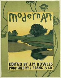 Boston artist, Arthur W. Dow , Plate 36, Les Maitres de l'Affiche,