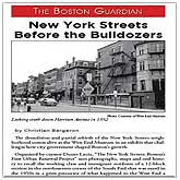 New York Streets: Before the Bulldozers