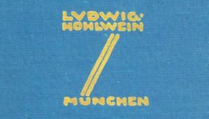 Ludwig Hohlwein, Professor, H.K. Frenzel , Dr. Walter F. Schubert, Herman George Scheffauer, Phonix Illustrationsdruck und Verlag, Berlin 1926