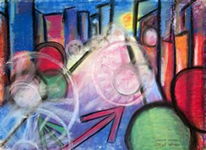 Original Art-Pastels, Gallery East