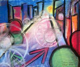 Original Art-Pastels