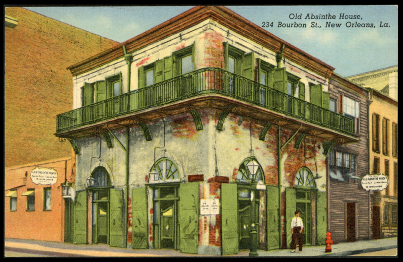 Absinthe house la 1920 600 dl w gallery east network for Craft store new orleans