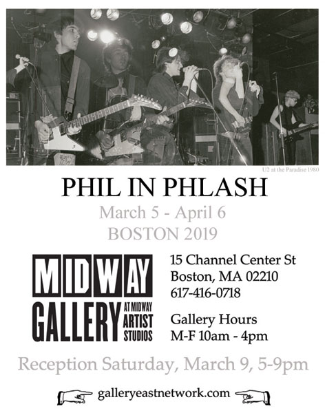 Phil In Plash at Midway Gallery